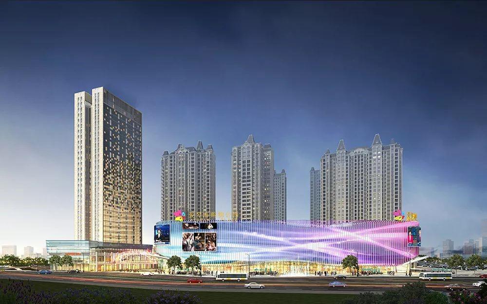 百色龙旺亚博体育官方网站地址购物公园——开启百色商业新时代